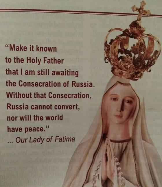 our lady of fatima warning