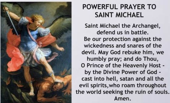 Prayer To St Michael -