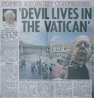 satan devil lives in the vatican