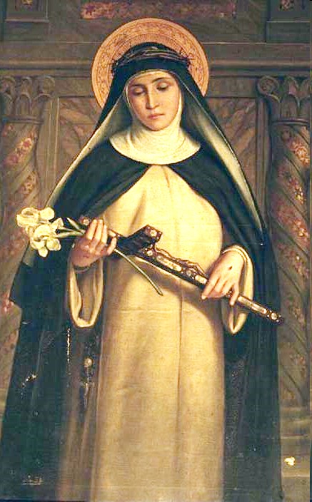 St Catherine of Siena. From chiesa di Santa Maria del Rosario in Prati, Roma