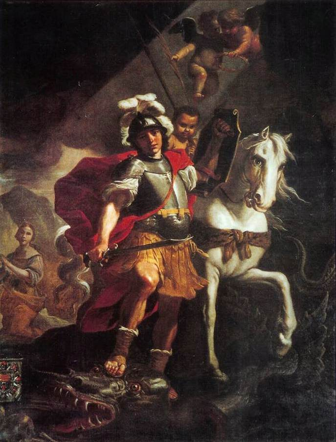 St. George Victorious over the Dragon 1678 - Mattia Preti
