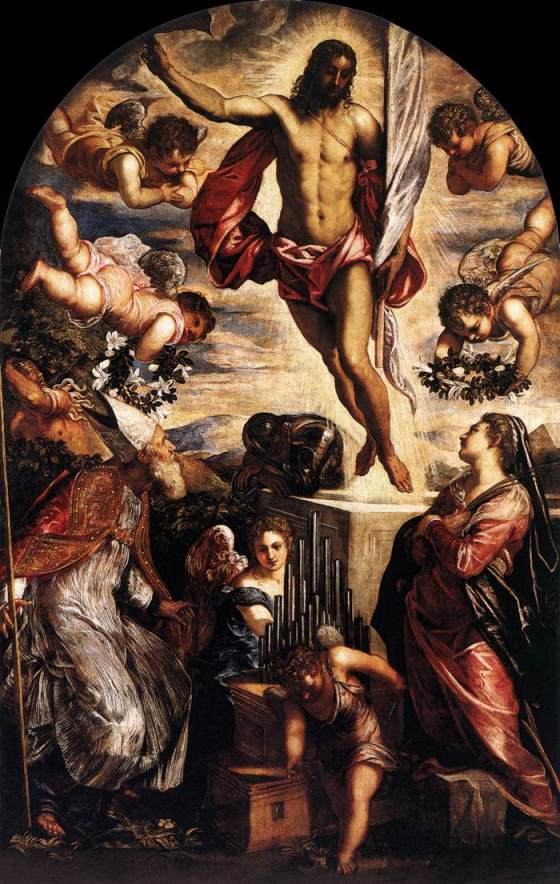 The Resurrection of Christ – TINTORETTO wga