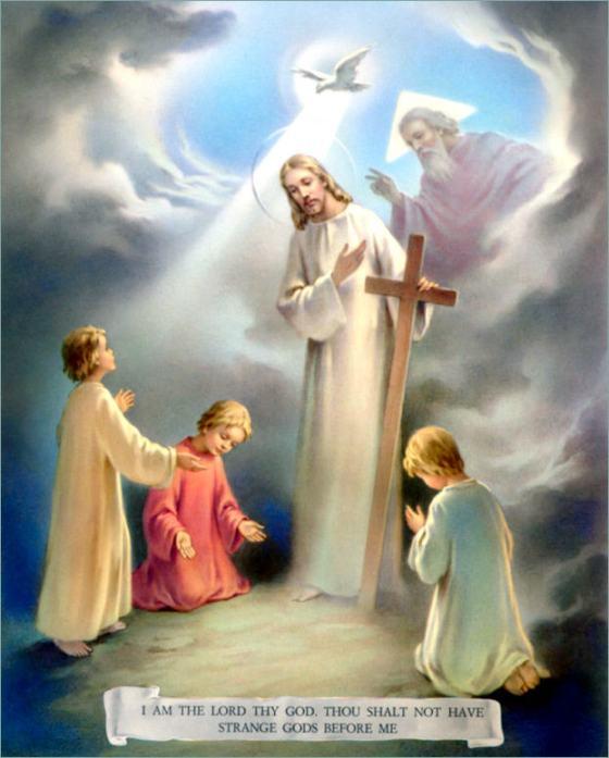 1st Commandment  NO STRANGE GODS