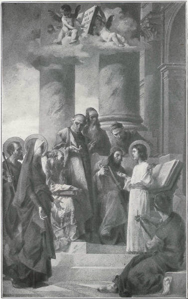 FINDING OF JESUS IN THE TEMPLE -