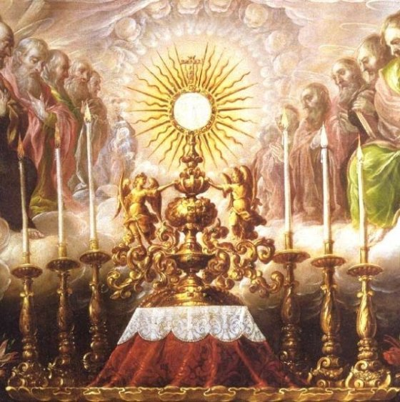 Holy Sacrifice of the Mass - Holy Altar