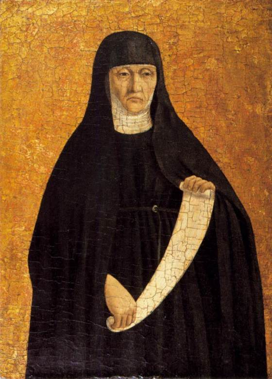 Polyptych of St Augustine, St Monica -  PIERO DELLA FRANCESCA