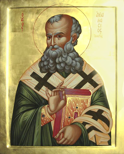 St. Athanasius Orthodox Icon
