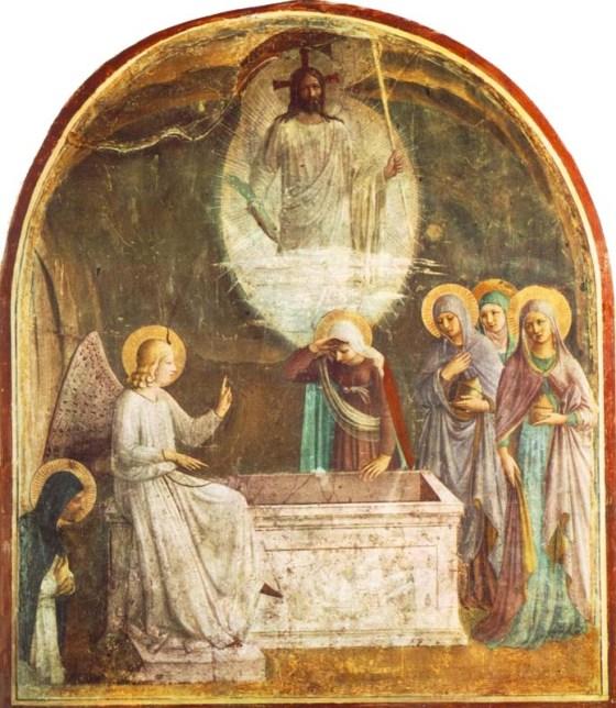 Women bring spices - fra-angelico-resurrection-women