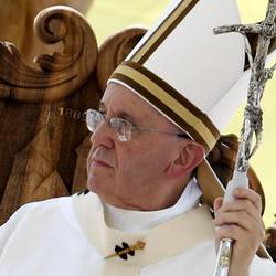 Bergoglio's pastoral staff has broken