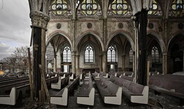 ABANDONED CHURCH AMERICA