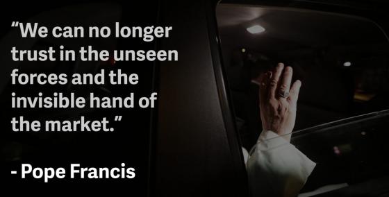 Bergoglio Marxist -Socialist