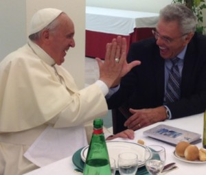 francis gimme five protestant preacher