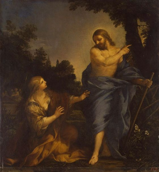 July 22 - Christ Appearing to Mary Magdalene -  Pietro da Cortona