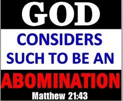 Sodomy, LGBT Transgender an  abomination to God!!