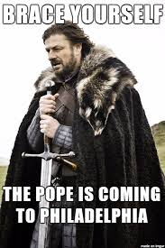 brace yourself bergoglio is coming