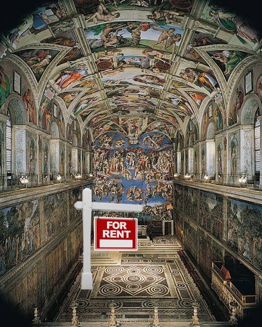 Bergoglio talks the talk ...Rents Out Sistine Chapel