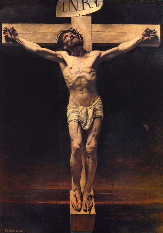 The Crucifixion by Leon Bonnat