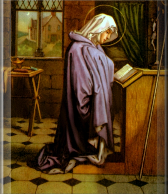 St. Gertrude the Great - November 16