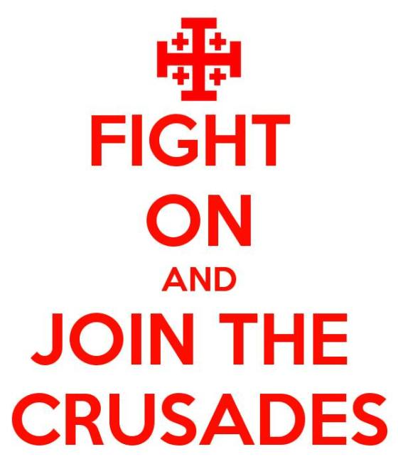 crusades join and fight on