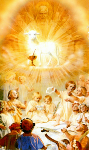 Holy Innocents follow the Lamb, because they are pure.