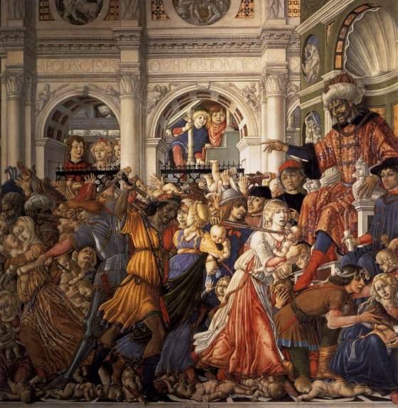 Massacre of the Innocents by Matteo di Giovanni (1482) WGA