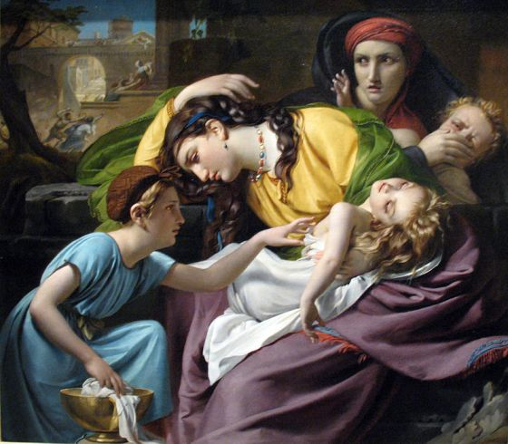 The massacre of the innocents by François-Joseph Navez, 1824