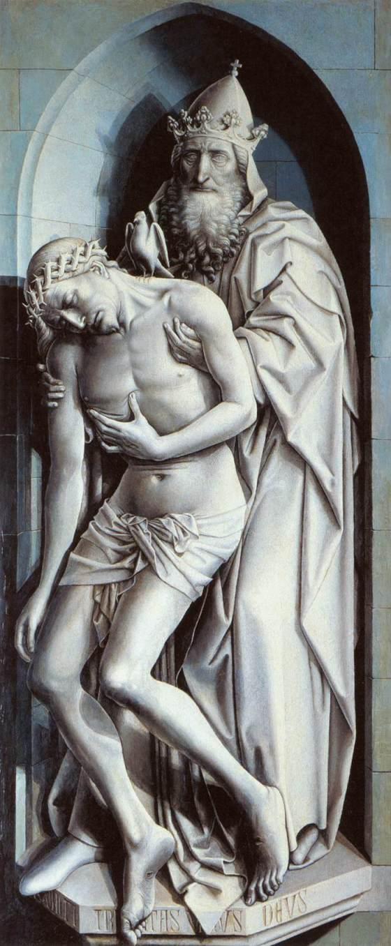 Holy Trinity, Master of Flémalle -1433-35