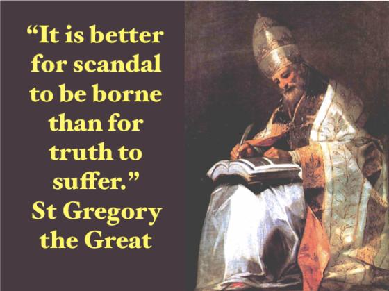 Never-ending Scandals of Newchurch - Sanctus Gregorius ora pro nobis! Sancta Maria, Mater Dei ora pro nobis!