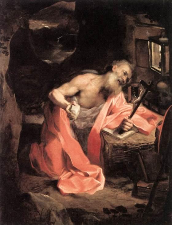 St. Jerome - Penance