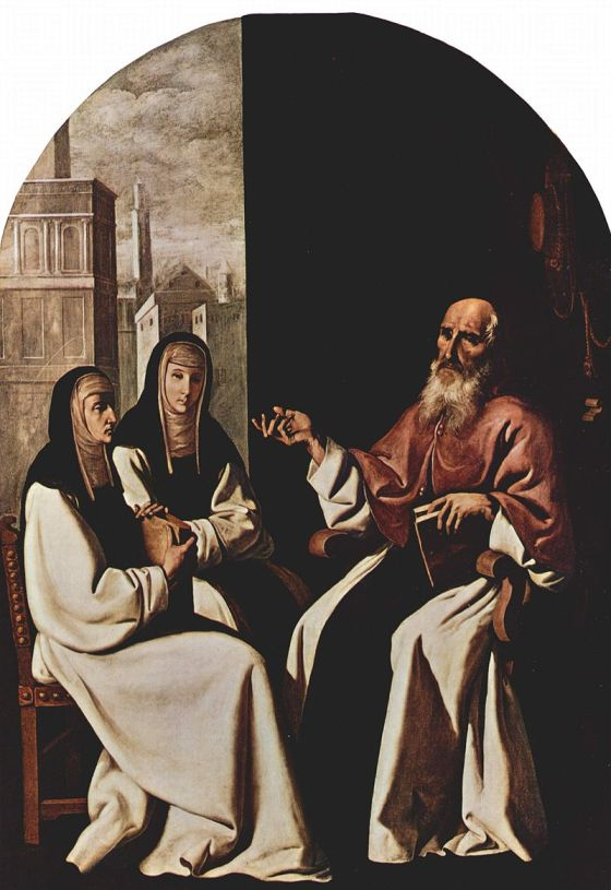 St. Jerome with St. Paula of Rome and St. Eustochium