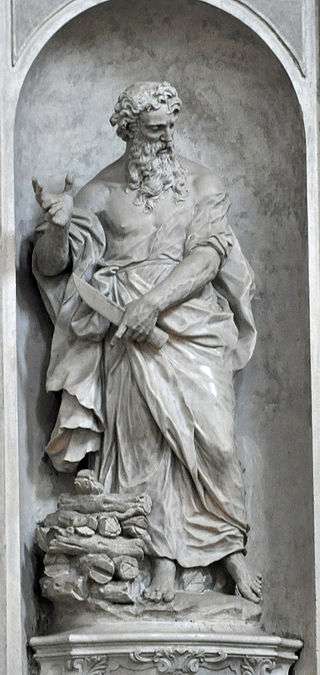 Abraham, 1754. Gesuati Church (Our Lady of the Rosary), Venice