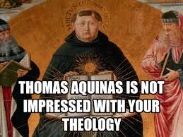 BERGOGLIO - HEAVEN IS A PARTY! ST THOMAS AQUINAS IS NOT IMPRESSED!