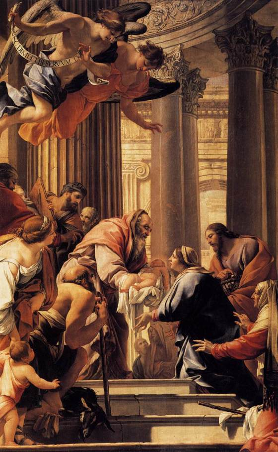 Presentation in the Temple, Simon Vouet - 1640-41