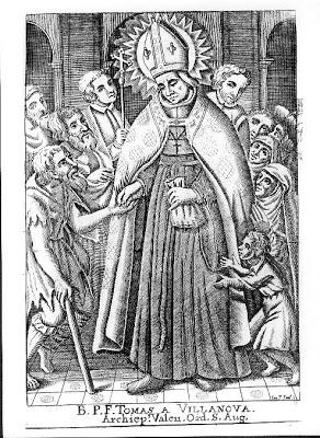 The charity of St Thomas of Villanova