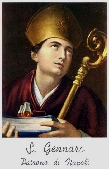 Saint Januarius patron saint of naples