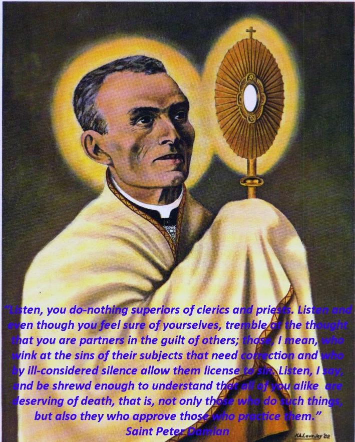 St Peter Damian, ora pro nobis!