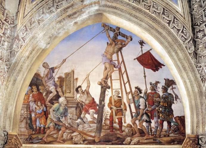 Crucifixion of St Philip - Strozzi Chapel, Santa Maria Novella, Florence