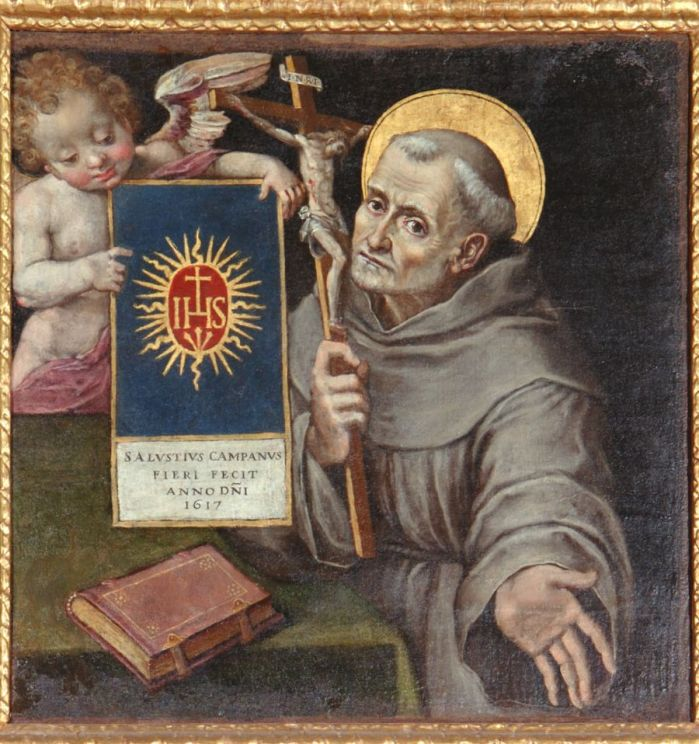 Holy Name Of Jesus - IHS - St. Bernardine of Siena