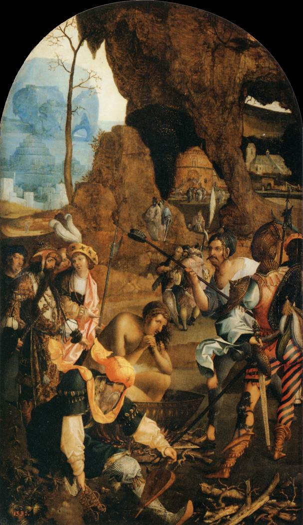 Martyrdom of St John the Evangelist - Unknown Master, Netherlandish