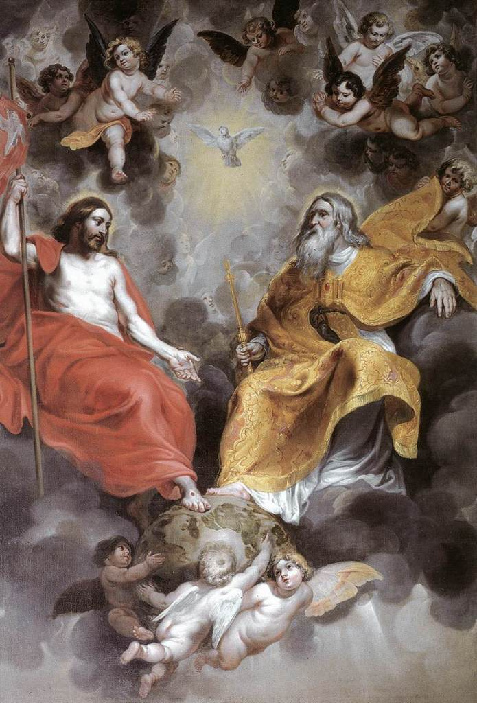 The Holy Trinity by Hendrick van Balen