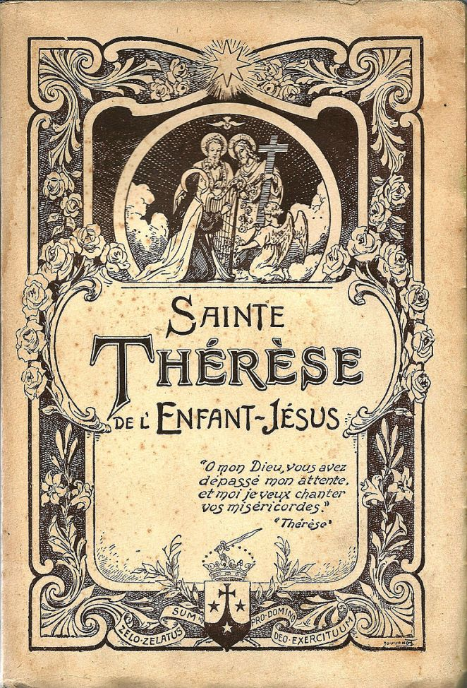 oct-3-feast-of-st-therese-of-the-child-jesus-cover-page-of-the-story-of-a-soul-lhistoire-dune-ame-by-therese-of-lisieux-edition-1940