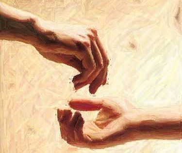 giving-alms